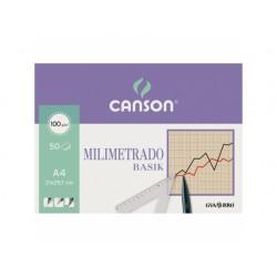 Canson - Milimetrado Basik Arte de papel 50 hojas