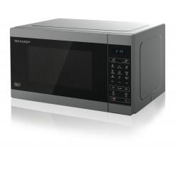 Sharp Home Appliances - YC-MG51E-S microondas Sobre superficie Microondas combinado 25 L 900 W Metálico