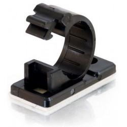 C2G - 88140 abrazadera para cable Negro 50 pieza(s)