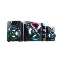 Trust - Ziva RGB 2.1 Gaming conjunto de altavoces 2.1 canales 11 W Negro