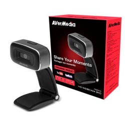 AVerMedia - AVERMEDIA WEBCAM YOUTUBER PW310 HD 1080P CMOS SIN MICRO (61PW310O00AB)