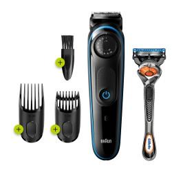 Braun - 81705178 depiladora para la barba Negro, Azul