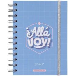 Mr. Wonderful - WOA10366ES agenda 160 páginas Multicolor
