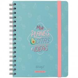Mr. Wonderful - WOA10361ES agenda 160 páginas Multicolor