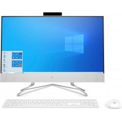 "HP - 24 -df0011ns 60,5 cm (23.8"") 1920 x 1080 Pixeles AMD Ryzen 5 8 GB DDR4-SDRAM 512 GB SSD Wi-Fi 5 (802.11ac) Blanco PC todo e"