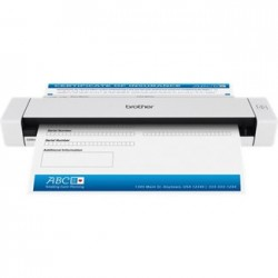 Brother - DS-620 Escáner alimentado con hojas 600 x 600DPI A4 Negro, Color blanco escaner
