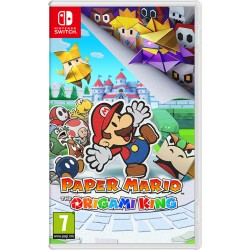 Nintendo - Paper Mario: The Origami King Nintendo Switch Básico Inglés
