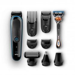 Braun - MGK3980 depiladora para la barba Mojado y seco Negro