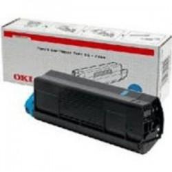 OKI - 42127407 Tóner de láser 5000páginas Cian tóner y cartucho láser