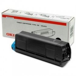 OKI - 42127408 Tóner de láser 5000páginas Negro tóner y cartucho láser