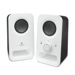 Logitech - Z150 Estéreo 3W Color blanco