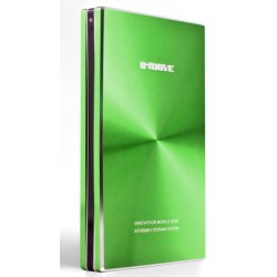 "B-Move - BM-HDB04T 2.5"" Aluminio, Verde storage drive enclosure"