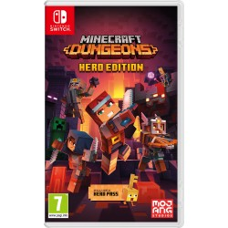 Nintendo - Minecraft Dungeons Hero Edition Nintendo Switch Alemán, Inglés