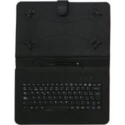 """TALIUS - funda con teclado para tablet 10"""" CV-3006 black"""