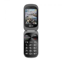 "MaxCom - MM 825 7,11 cm (2.8"") 99 g Negro Teléfono para personas mayores"