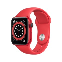 Apple - Watch Series 6 OLED 40 mm Rojo 4G GPS (satélite)