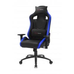 Mars Gaming - MGCXNEO Silla para videojuegos universal Asiento acolchado Negro, Azul