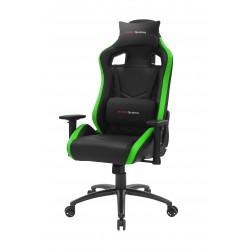 Mars Gaming - MGCXNEO Silla para videojuegos universal Asiento acolchado Negro, Verde