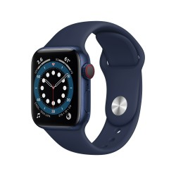 Apple - Watch Series 6 OLED 40 mm Azul 4G GPS (satélite)
