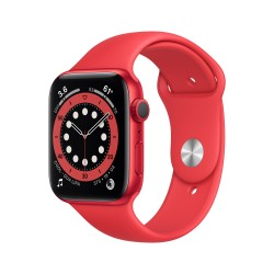 Apple - Watch Series 6 OLED 44 mm Rojo GPS (satélite)