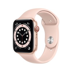 Apple - Watch Series 6 OLED 44 mm Oro 4G GPS (satélite)
