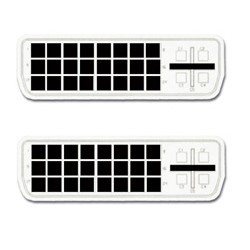 MCL - -D Male/Male Dual Link 5m cable DVI DVI-D