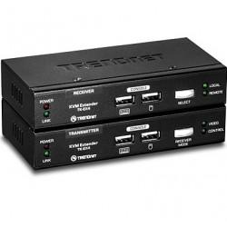 Trendnet - TK-EX4 extensor de consola Negro
