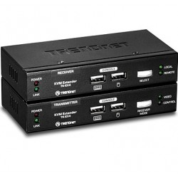 Trendnet - TK-EX4 Negro extensor de consola