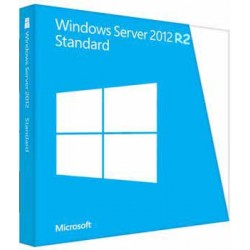 Microsoft - Windows Server Standard 2012 R2 x64 - 9595889