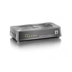 LevelOne - Switch Fast Ethernet de 5 puertos - FSW-0508TX