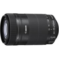 Canon - EF-S 55-250mm f/4-5.6 IS STM SLR Teleobjetivo Negro