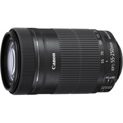 Canon - EF-S 55-250mm f/4-5.6 IS STM SLR Telephoto lens Negro