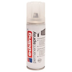 Edding - Permanent Spray pintura acrílica 200 ml Incoloro Bote de spray - 5200-998