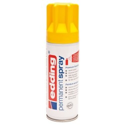 Edding - Permanent Spray pintura acrílica 200 ml Amarillo Bote de spray - 5200-905