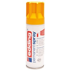 Edding - Permanent Spray pintura acrílica 200 ml Amarillo Bote de spray - 5200-906