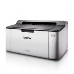 Brother - HL-1110 2400 x 600DPI A4 Negro, Color blanco impresora láser/led