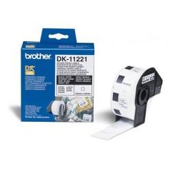 Brother - Etiquetas precortadas cuadradas (papel térmico)