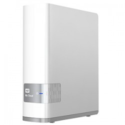Western Digital - My Cloud 4TB Ethernet Color blanco dispositivo de almacenamiento personal en la nube