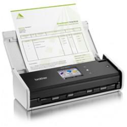 Brother - ADS-1600W escaner 600 x 600 DPI Escáner con alimentador automático de documentos (ADF) Negro, Blanco A4
