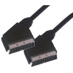 MCL - MC752-2M 2m SCART (21-pin) SCART (21-pin) Negro cable EUROCONECTOR