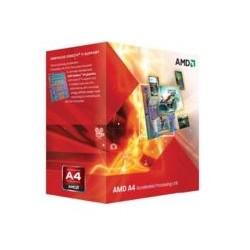 AMD - A series A4-6300 3.7GHz 1MB L2 Caja procesador