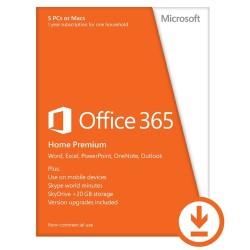 Microsoft - Office 365 Home Premium 5 licencia(s) 1 año(s) Plurilingüe