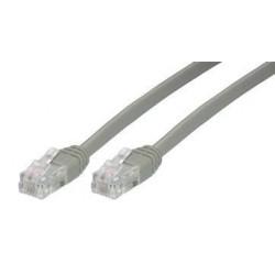 MCL - Cable 2x RJ11 6P4C PLUGS, 3m cable telefónico Gris