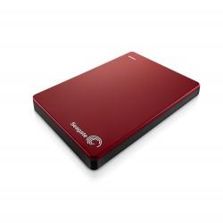 Seagate - Backup Plus Slim Portable 2TB 3.0 (3.1 Gen 1) 2000GB Rojo