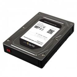 "StarTech.com - Caja Adaptador de Disco Duro o SSD SATA de 2,5"" de hasta 12,5mm de Altura para Bahía de 3,5"""