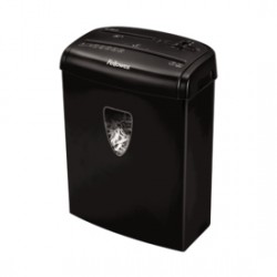 Fellowes - H-8Cd Cross shredding Negro triturador de papel