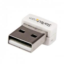 StarTech.com - Mini Adaptador de Red Wifi Wireless N G Inalámbrico USB 2.0 - 1 Transmisor - 1 Receptor
