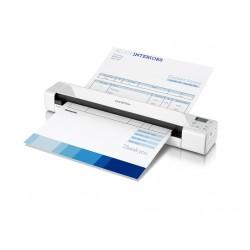 Brother - DS-820W Alimentación de hojas 600 x 600DPI A4 Color blanco escaner