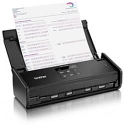 Brother - ADS-1100W escaner 600 x 600 DPI Escáner con alimentador automático de documentos (ADF) Negro A4