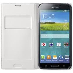 "Samsung - EF-WG900B funda para teléfono móvil 12,9 cm (5.1"") Funda cartera Blanco"